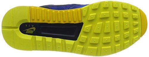 Nike Men's Air Odyssey LTR Running Shoes Azul / Verde (Mdnght Nvy / Mdnght Nvy-lt Vltg) RbLra6