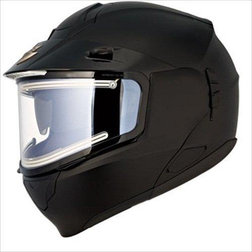 Scorpion Snow Ready EXO-900 Snow Racing Snowmobile Helmet - Matte Black / Small