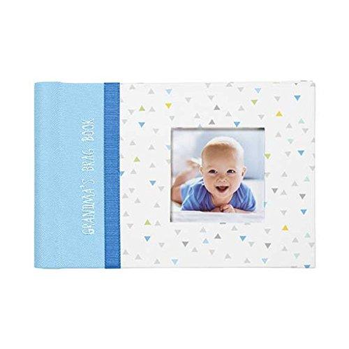C.R. Gibson Grandma's Baby Boy Brag Book Photo Album Adventu