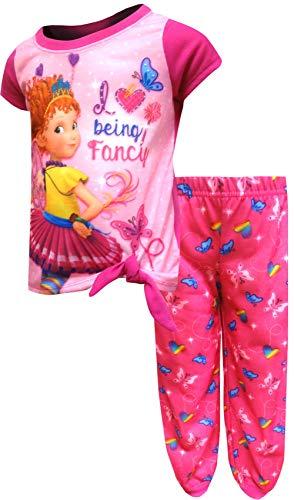AME Sleepwear Girls' Fancy Nancy I Love Being Fancy Pajamas (8) Pink