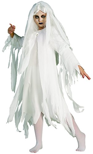 [Rubie's Ghostly Spirit Child's Costume, Large] (Childrens Ghost Costume)