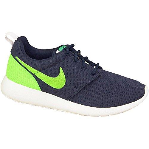 Nike Rosherun Scarpe da Corsa, Unisex Bambino Navy blue