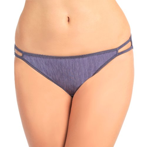 Vanity Fair Womens Body Shine Illumination String Bikini Panty 18108 Steele violet Medium6