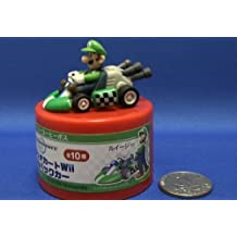 Super Mario Kart Micro Mini Pull Back Luigi Kart Figure (Japanese Promo )