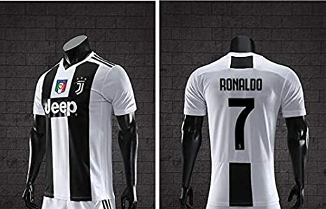 new product 23bd0 73de2 Amazon.com : nobrand 18-19 Juventus Home Cristiano Ronaldo ...