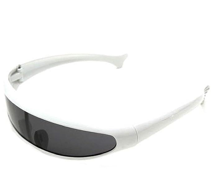 Montura blanca - Lente negra) Gafas de sol deportivas Esquí ...