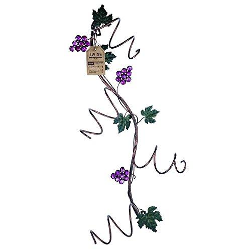 Grapevine Wine Rack - True wine rack, Grapevine Vertical 4 Bottle storage standing rustic bottle holder