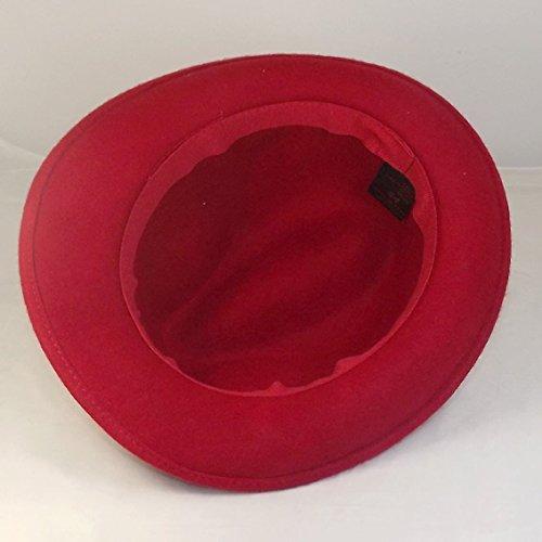 Chapeau-tendance - Chapeau trilby rouge Maccorse - - Homme