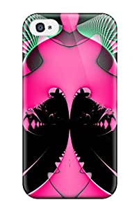 Tough Iphone DfNZaBH9068KysDy Case Cover/ Case For Iphone 4/4s(fractal)