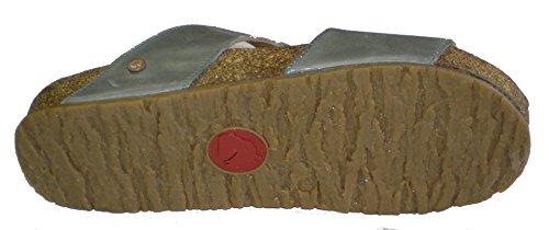 Haflinger 819040-0-531 Bio Merle mujer clogs & mules gris