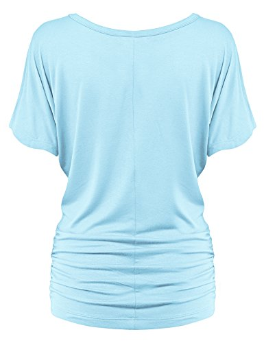 MBJ-Womens-Solid-Short-Sleeve-Boat-Neck-Dolman-Top-with-Side-Shrring-Made-in-USA