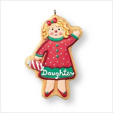 Hallmark Keepsake Christmas Tree Ornament - Daughter - 2007