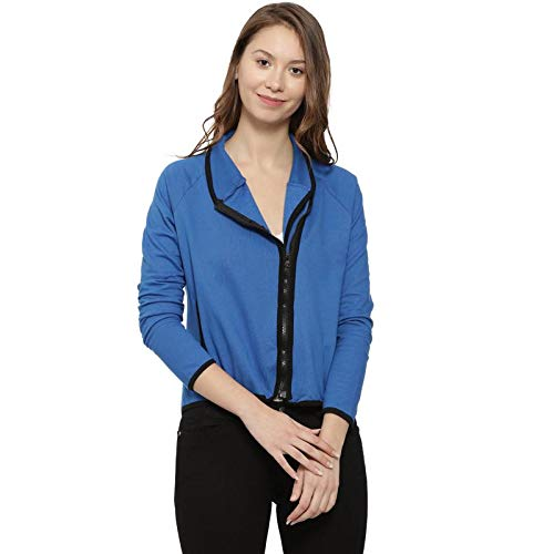 Campus Sutra Full Sleeve Solid Women Jacket