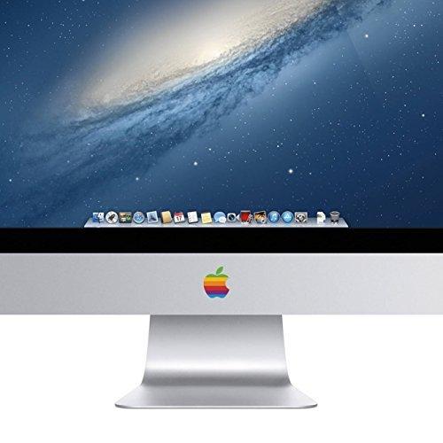 iMac Retro Rainbow Apple Logo Decal Sticker for the iMac Desktop Computer