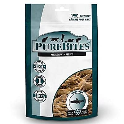 PURE BITE Minnow Freeze Dried Cat Treats