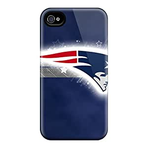Bumper Hard Cell-phone Case For Iphone 6 With Custom Colorful New England Patriots Image AaronBlanchette