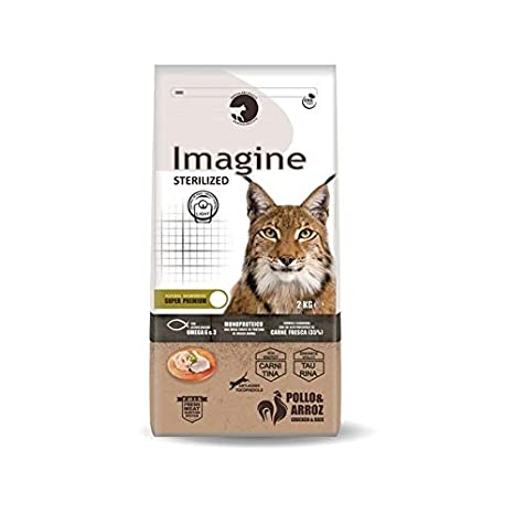 Imagine Pienso Cat STERILIZED 2Kg para Gatos esterilizados: Amazon.es: Productos para mascotas