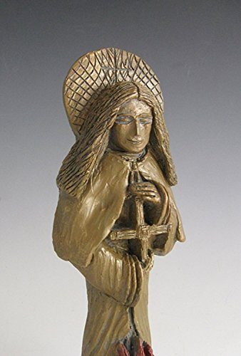 St. Brigid: Patron of Ireland, Students  Saint for House-Blessing; Handmade Statue