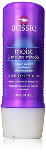 Aussie Moist 3 Minute Miracle Deep Treatment, 8 Ounce