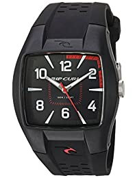 Rip Curl Men's A2410-BLK Surf Watch with Black Band