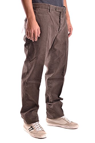 Pt01 Homme MCBI247023O Marron Coton Pantalon