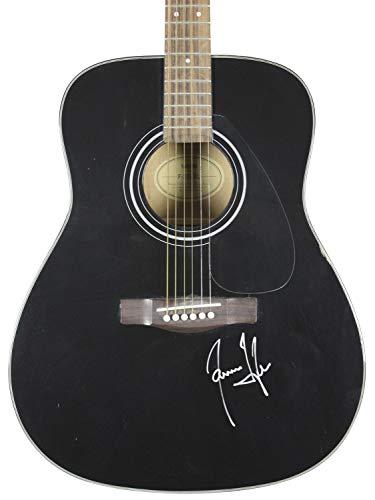 James Taylor Autographed Signed Yamaha Acoustic Guitar Autographed Signed Bas #H60050 - Certified - James Taylor Memorabilia