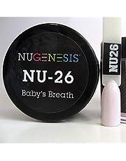 NUGENESIS Nail Color SNS Dip Dipping Powder NU 26 Baby's Breath 1.5oz/43g