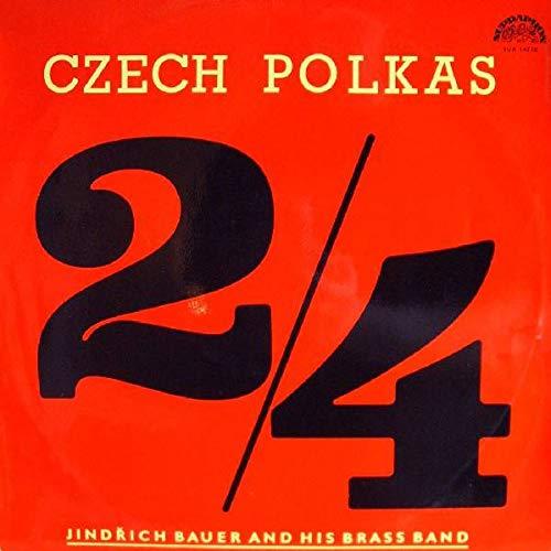 Jindrich Bauer Brass Band - Prager Blasmusik - Czech Polkas - Supraphon - SUA 14730
