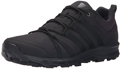 adidas Outdoor Men's Tracerocker Trail Running Shoe, black/Dark Grey/black, 10 M US
