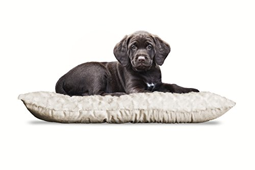 Furhaven Pet Kennel Pad | Ultra Plush Tufted Pillow Pet Bed