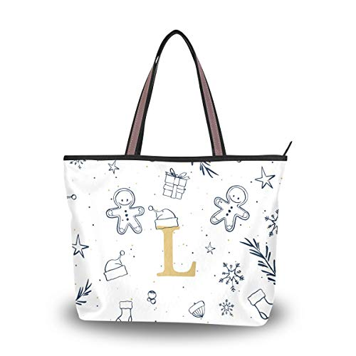 Women's Tote Bag With Xmas...