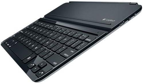 Logitech Ultrathin Keyboard Cover - Teclado para Tablet Apple iPad Air 1 (QWERTY Español), Gris