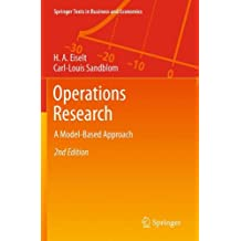 Operations Research: A Model-Based Approach