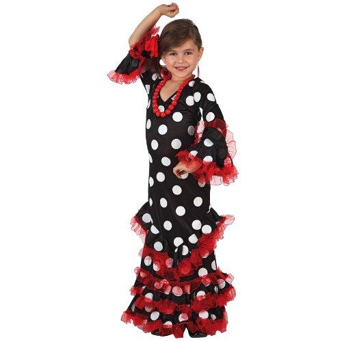 Atosa - Disfraz de flamenco para niña, talla 10-12 años (8422259071525)