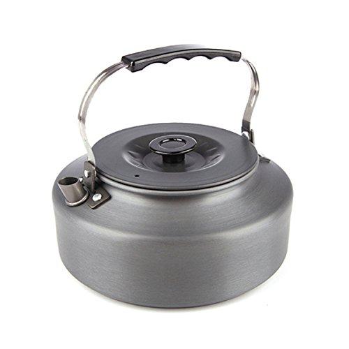Aluminum Tea Kettle - EYBEAR Camping Water Pot 1.6L Portable Ultra-light Outdoor Hiking Anodised Aluminum Kettle Teapot Coffee Pot