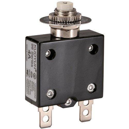 NTE Electronics R58-4A Series R58 Thermal Circuit Breaker, 250