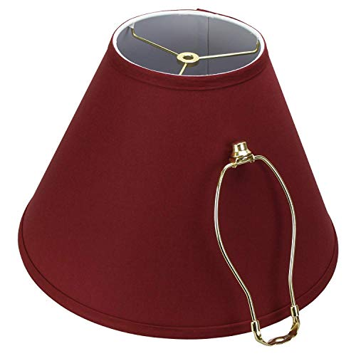 Buy lampshade finial red
