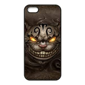 Alice Madness Returns Cheshire Cat iPhone 4 4s Cell Phone Case Black phone component RT_129518
