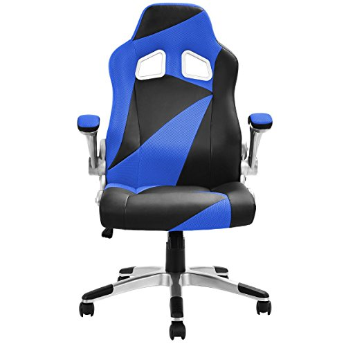 41XsJewjaoL - Giantex-Executive-Racing-Chair-PU-Leather-Bucket-Seat-Gaming-Chair-Desk-Computer