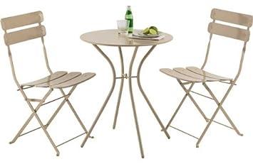Garten Bistro Möbel Set Farbe Stein Amazonde Küche Haushalt