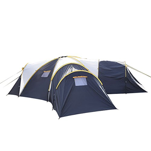 Tangkula-Waterproof-6-9-Person-31-Room-C&ing-  sc 1 st  Outdoor Store & Tangkula Waterproof 6-9 Person 3+1 Room Camping Tent Outdoor ...