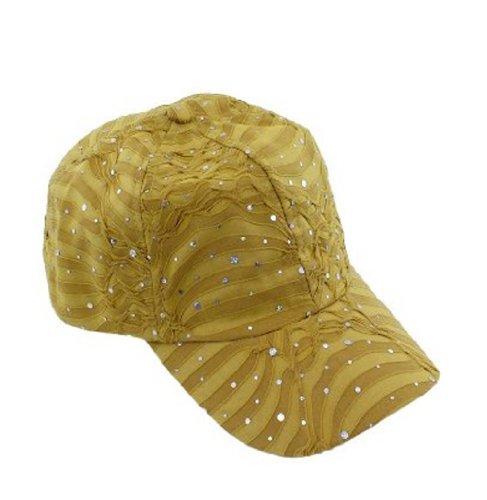 - Glitter Caps-Khaki