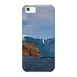 linJUN FENGDefender Case For iphone 5/5s, Iceberg With Hole Pattern