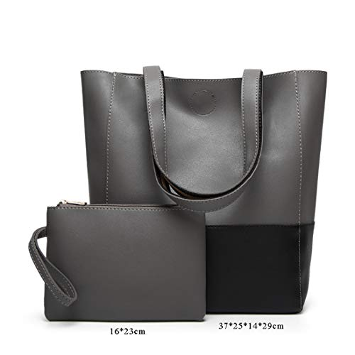 Messenger A Eleganti Shoulder Fashion Borse Waterproof Smnyi Nero Capacità Semplice Tracolla Borsa Moderni Economiche Grande Donna Pu Leather Handbag Bag OxZ8wUxq