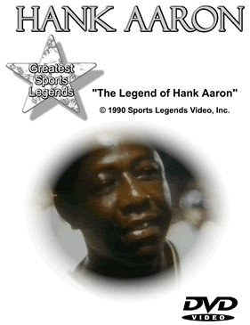 Hank Aaron Greatest Sports Legends DVD