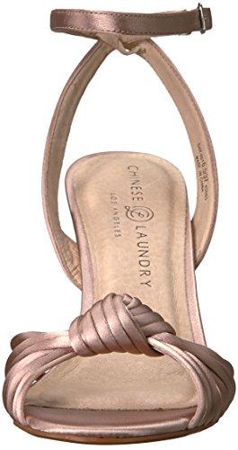 Sandalen Frauen Chinese Nude Satin mit Absatz Laundry xw8xzaSqT