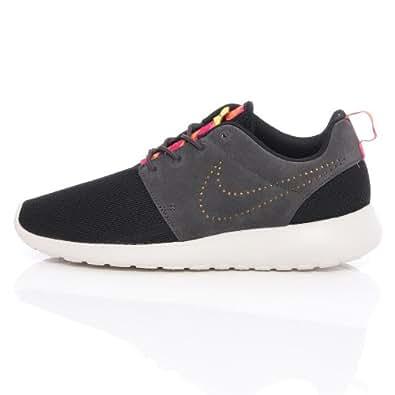 Nike Rosherun Men Shoes Sneakers Color: Black/Pink Foil/Dark Charcoal 511881-012 (SIZE: 13)