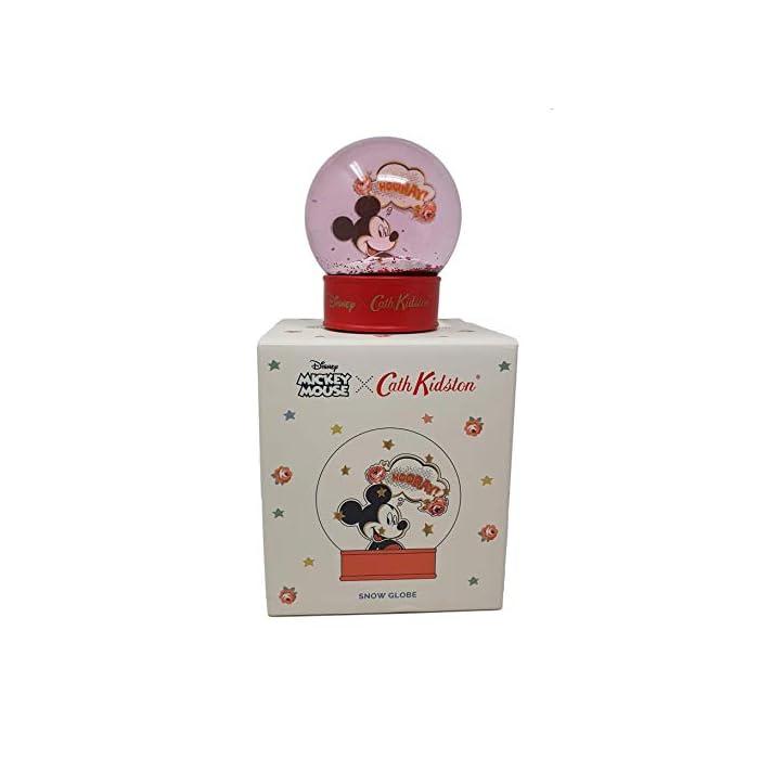 41XsL%2Bhe6NL Bola de nieve Cath Kidston Disney edición limitada con Mickey Mouse Base roja con la marca Cath Kidston Disney. Interior con purpurina roja con Mickey Mouse.