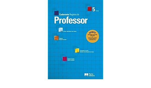 Caderneta de Registos do Professor - 5 Turmas (Portuguese ...