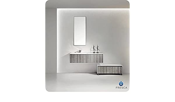 Fabulous Fresca 52 Inch Wall Mount High Gloss Modern Bathroom Vanity Download Free Architecture Designs Embacsunscenecom